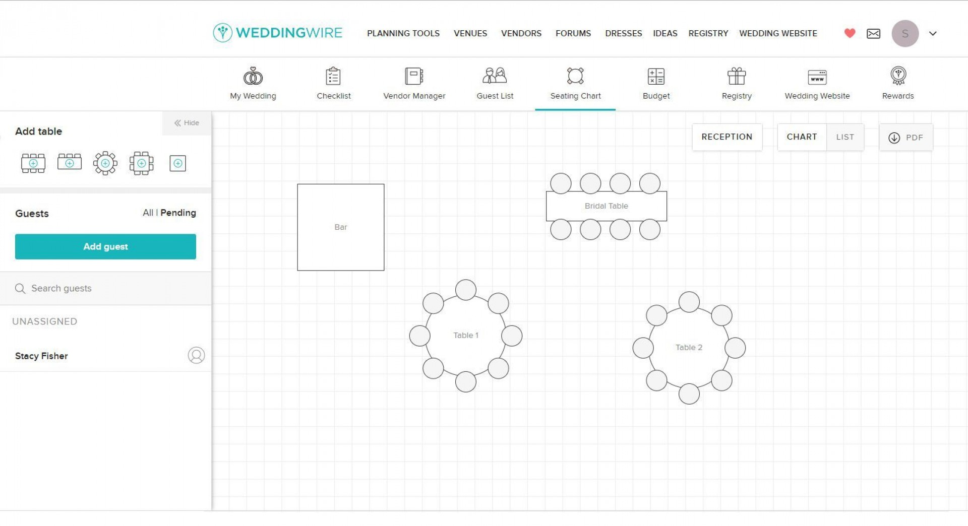 012 Simple Wedding Seating Chart Template Concept  Templates Plan Excel Word Microsoft1920