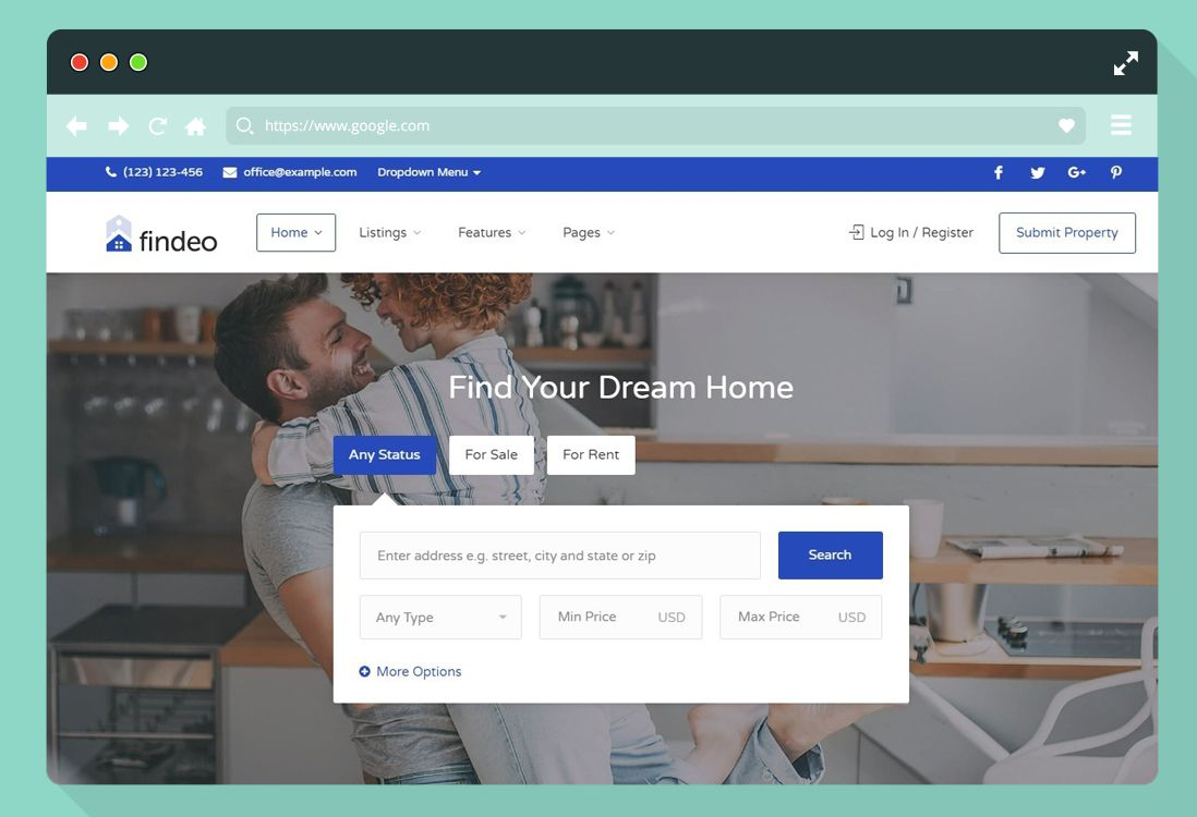 012 Staggering Real Estate Website Template High Resolution  Templates Bootstrap Free Html5 Best WordpresFull