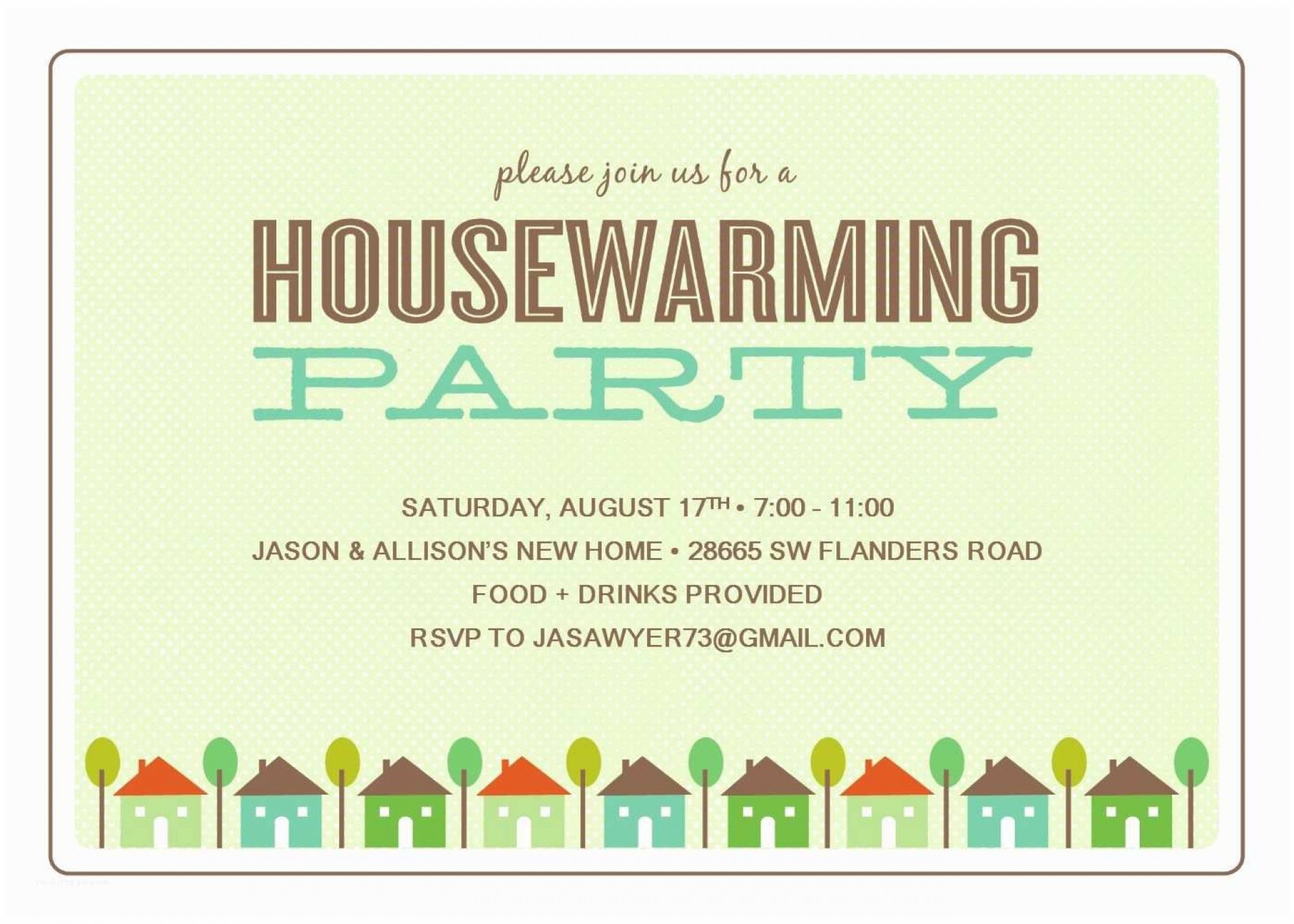 012 Unusual Housewarming Party Invitation Template Design  Templates Free Download Card1920