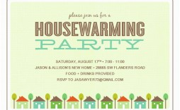 012 Unusual Housewarming Party Invitation Template Design  Templates Free Download Card