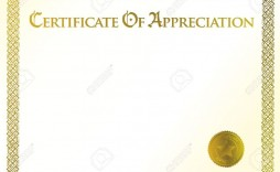012 Wondrou Certificate Of Appreciation Template Free Sample  Microsoft Word Download Publisher Editable