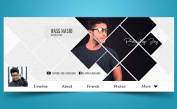 013 Best Facebook Cover Photo Photoshop Template Sample  2019 Page Profile Picture Size