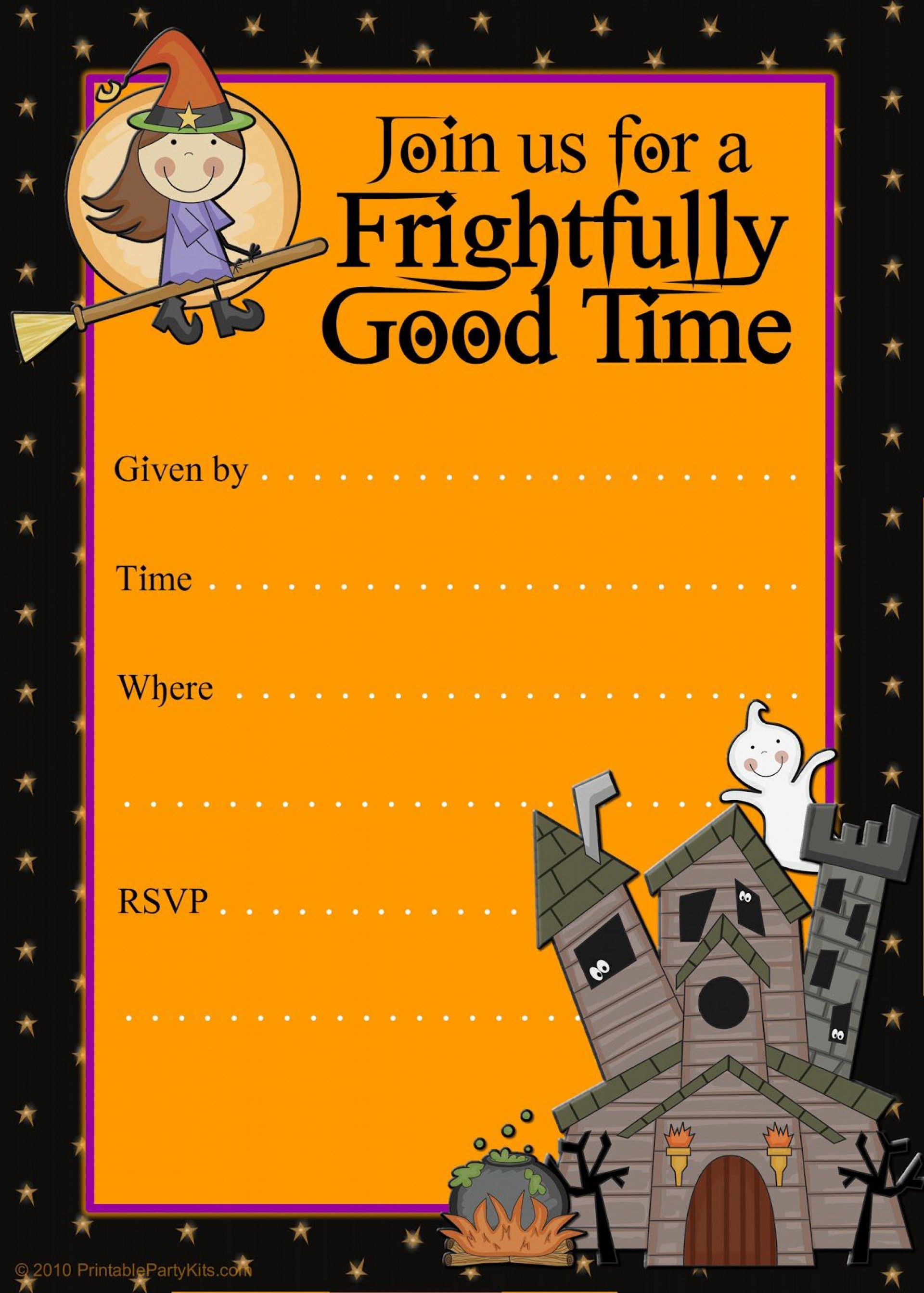 013 Frightening Free Halloween Invitation Template High Def  Templates Microsoft Word Wedding Printable Party1920