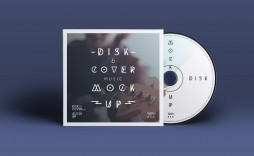 013 Impressive Cd Cover Template Psd High Def  Sleeve Case Free Download Layout