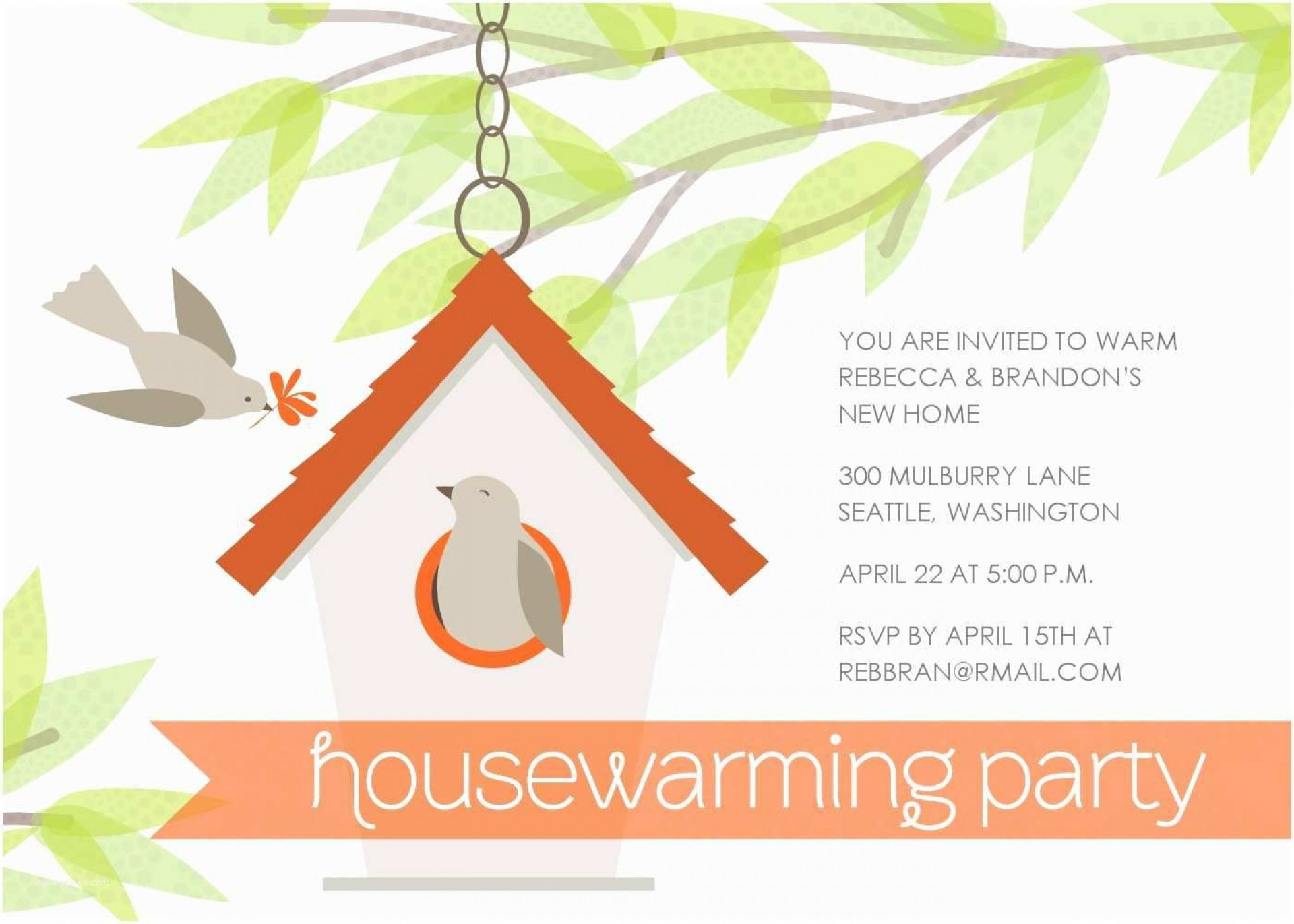013 Stupendou Housewarming Party Invitation Template High Definition  Templates Free Download Card1920