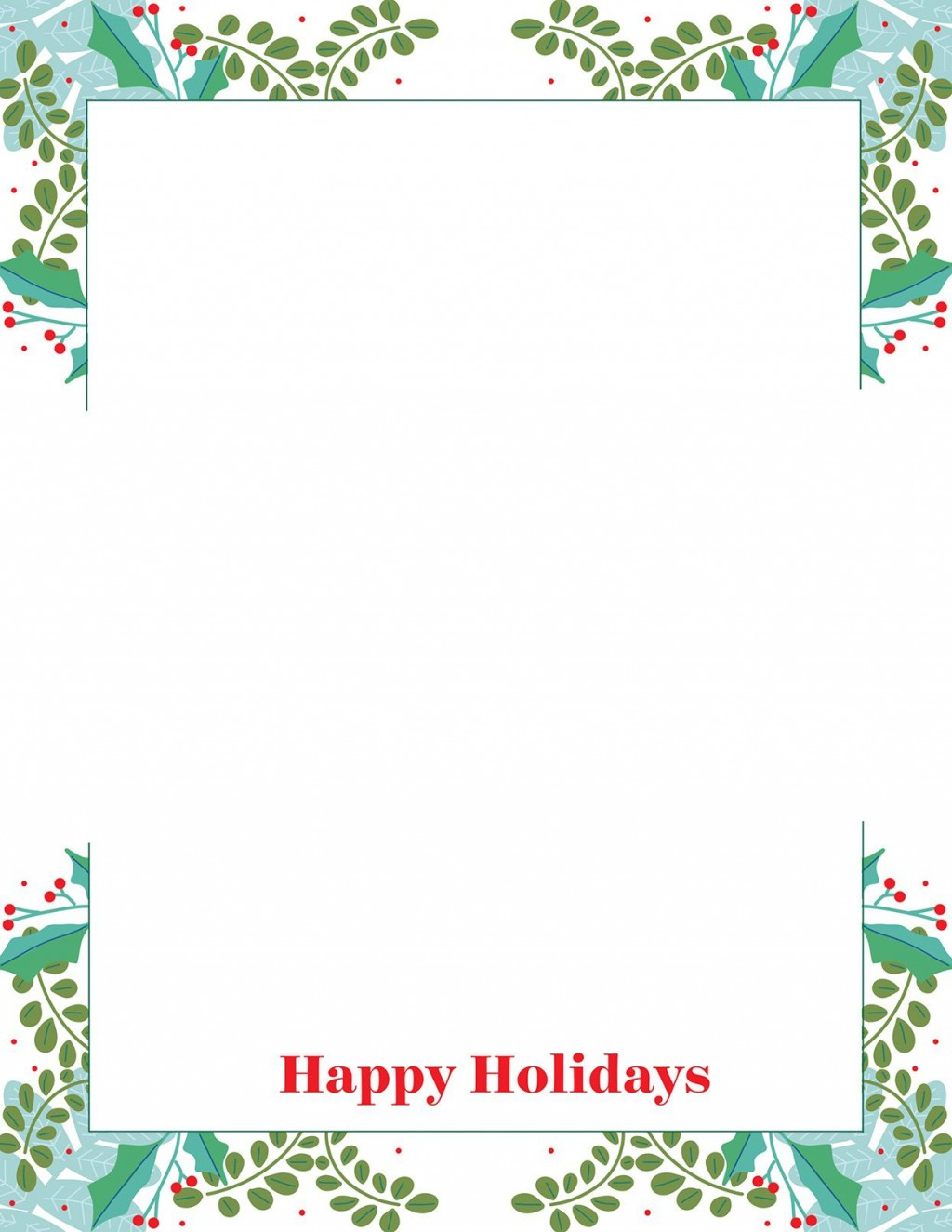 013 Surprising Free Christma Letter Template For Microsoft Word Photo  Downloadable NewsletterLarge