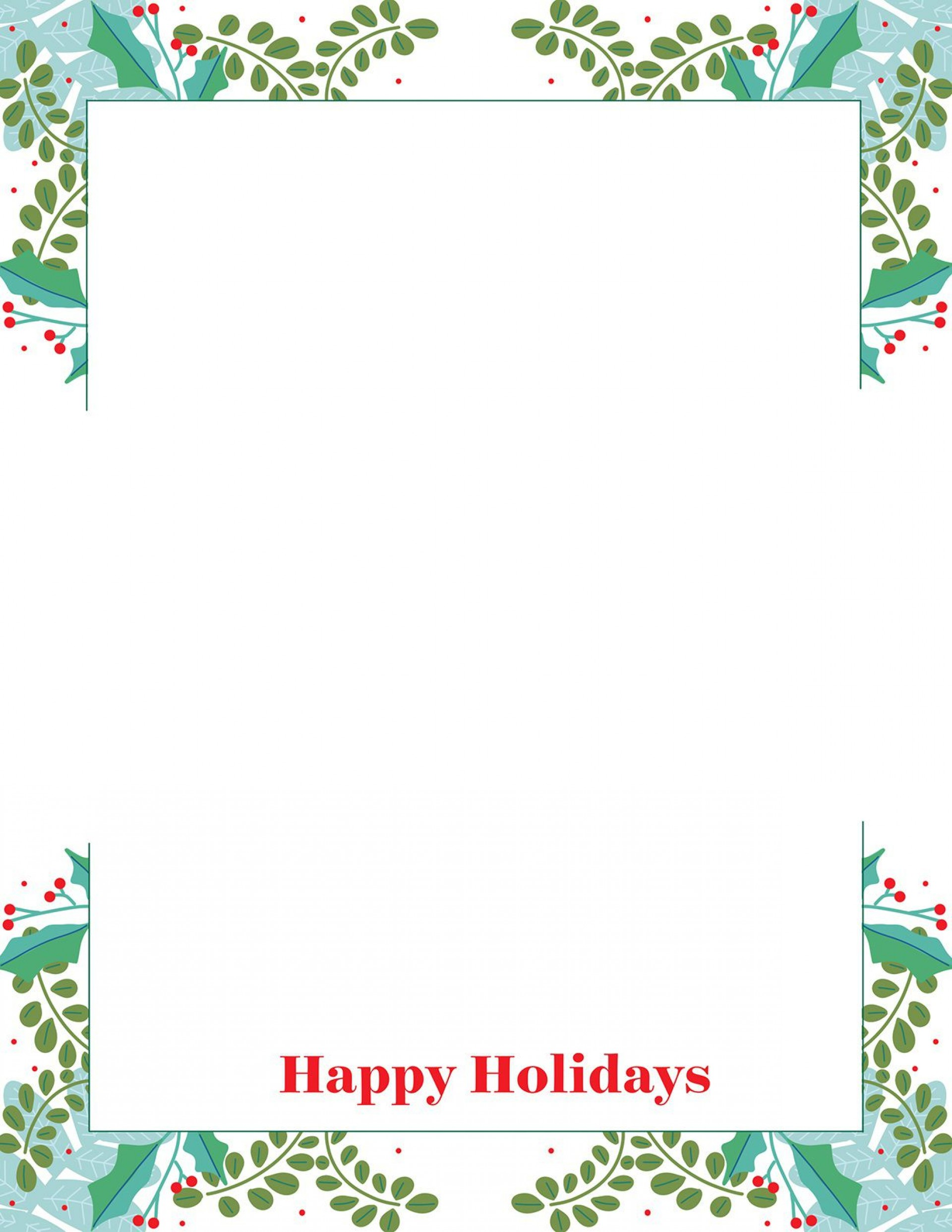 013 Surprising Free Christma Letter Template For Microsoft Word Photo  Downloadable Newsletter1920