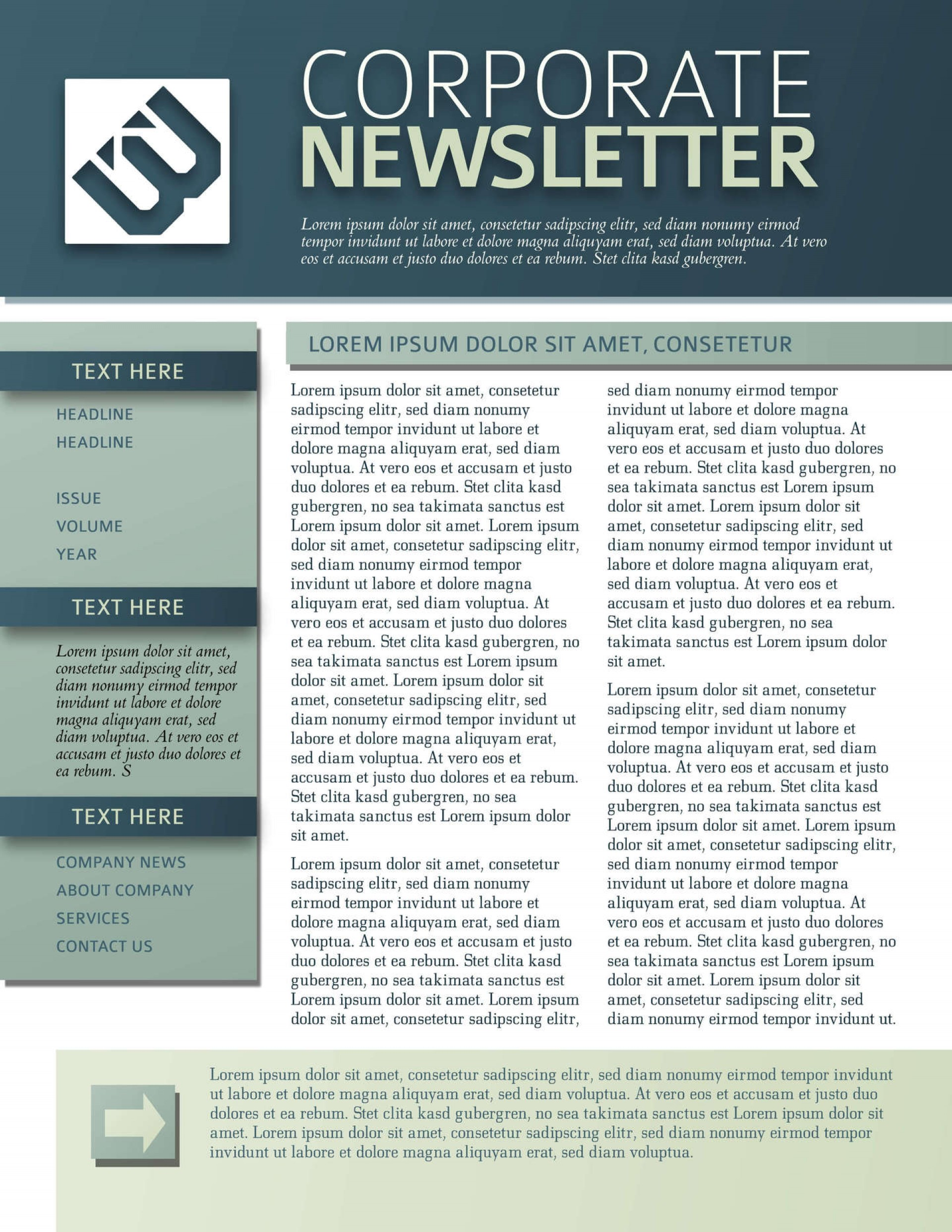014 Awful Free Printable Newsletter Template High Definition  Templates For Church Preschool1920