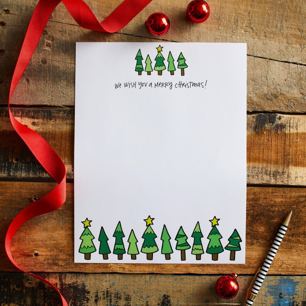014 Formidable Free Christma Letter Template For Microsoft Word Design  Downloadable NewsletterLarge