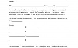 014 Rare 30 Day Eviction Notice Template Concept  Pdf Form