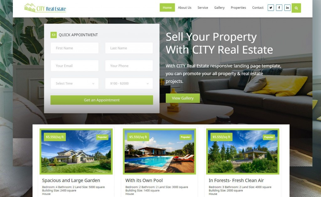 014 Top Real Estate Website Template Highest Quality  Templates Bootstrap Free Html5 Best WordpresLarge