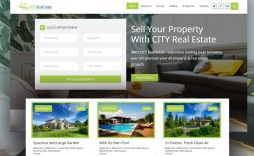 014 Top Real Estate Website Template Highest Quality  Templates Bootstrap Free Html5 Best Wordpres