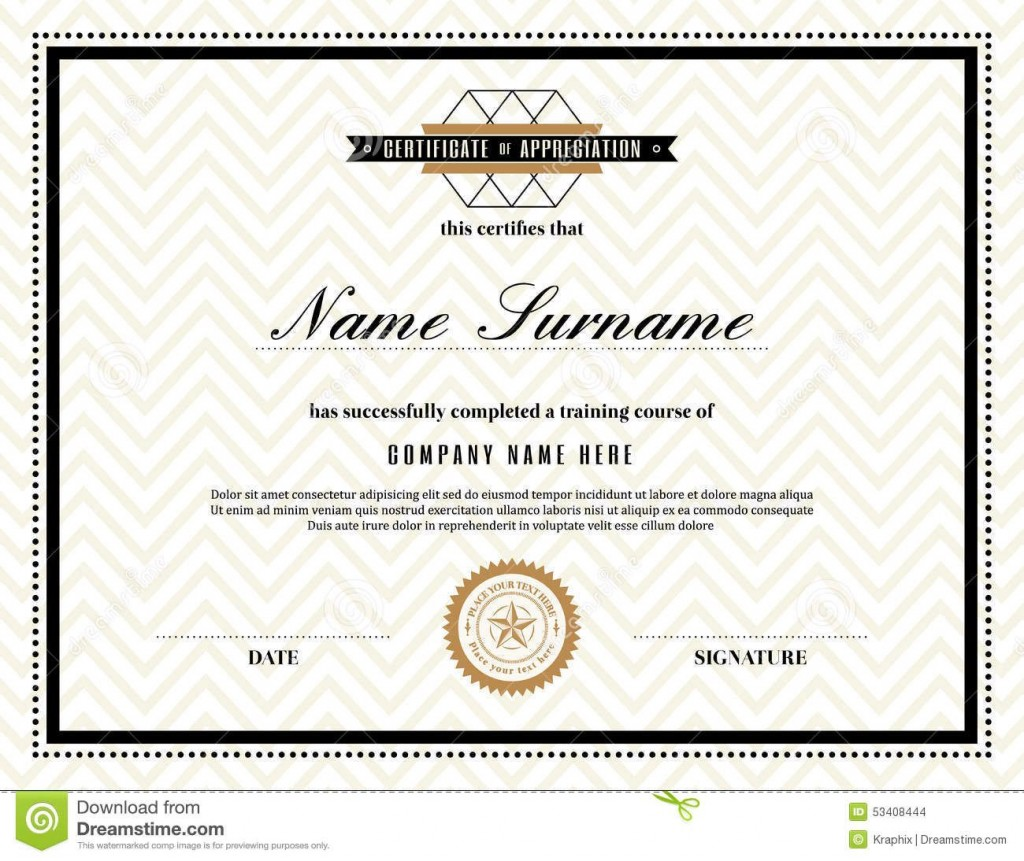 014 Unforgettable Certificate Of Appreciation Template Free Highest Quality  Microsoft Word Download Publisher EditableLarge