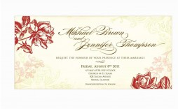 014 Unusual Funeral Invitation Template Free Example  Printable Service Word