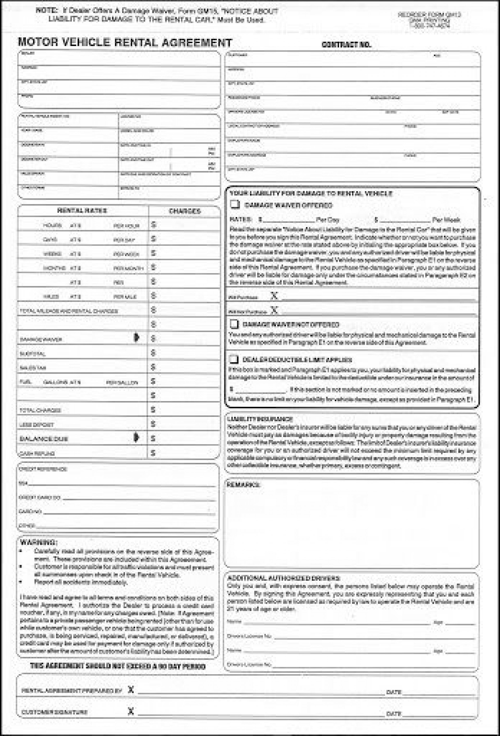 015 Awful Car Rental Agreement Template High Definition  Vehicle Rent To Own South Africa Singapore1920
