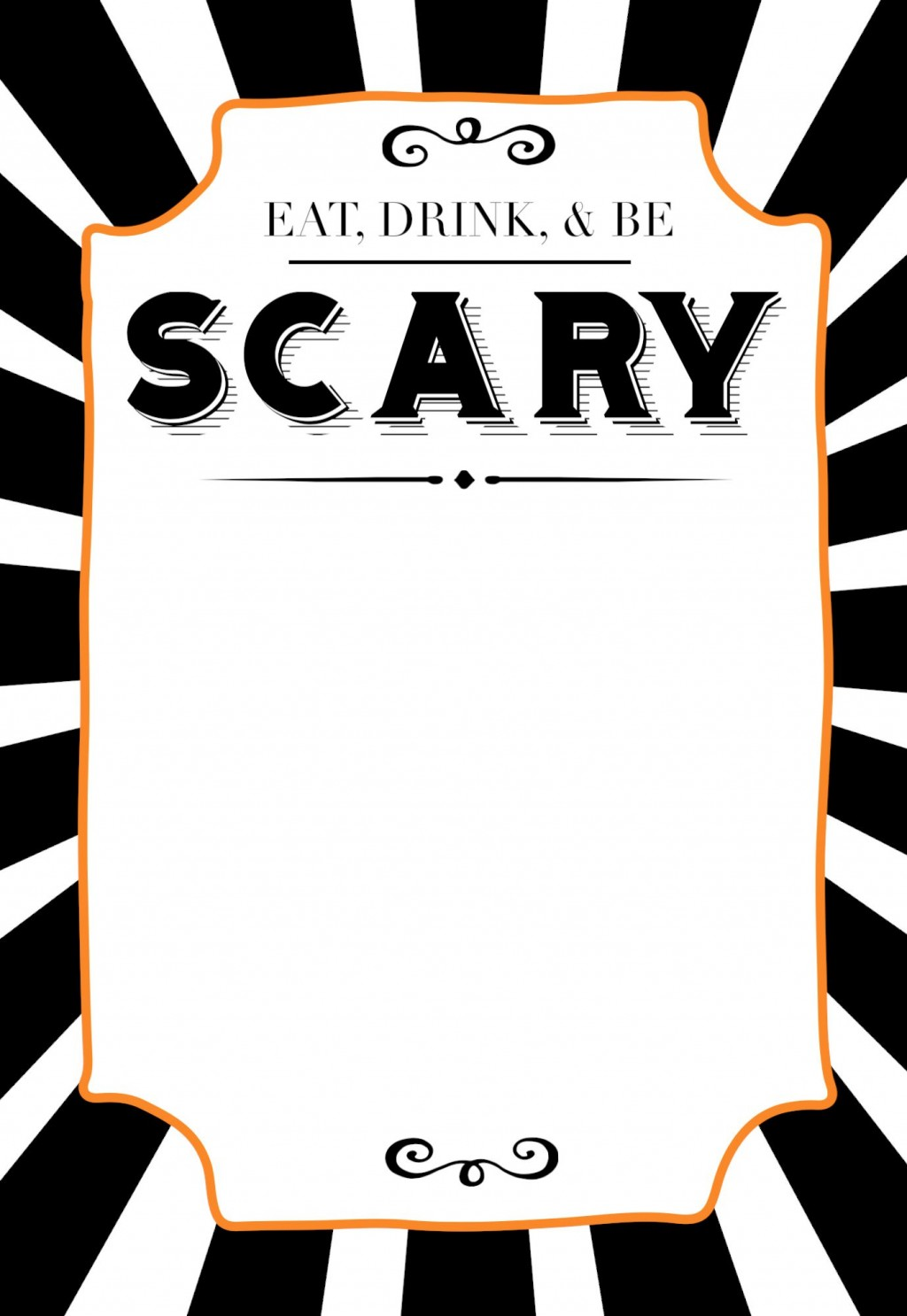 015 Fantastic Free Halloween Invitation Template Highest Quality  Templates Microsoft Word Wedding Printable PartyLarge