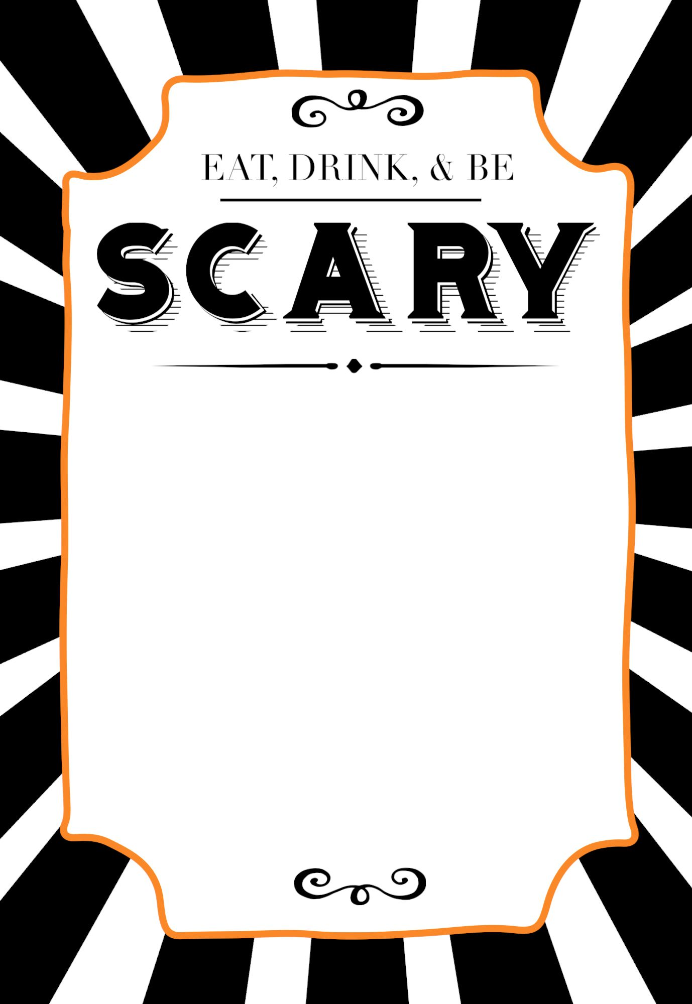 015 Fantastic Free Halloween Invitation Template Highest Quality  Templates Microsoft Word Wedding Printable PartyFull