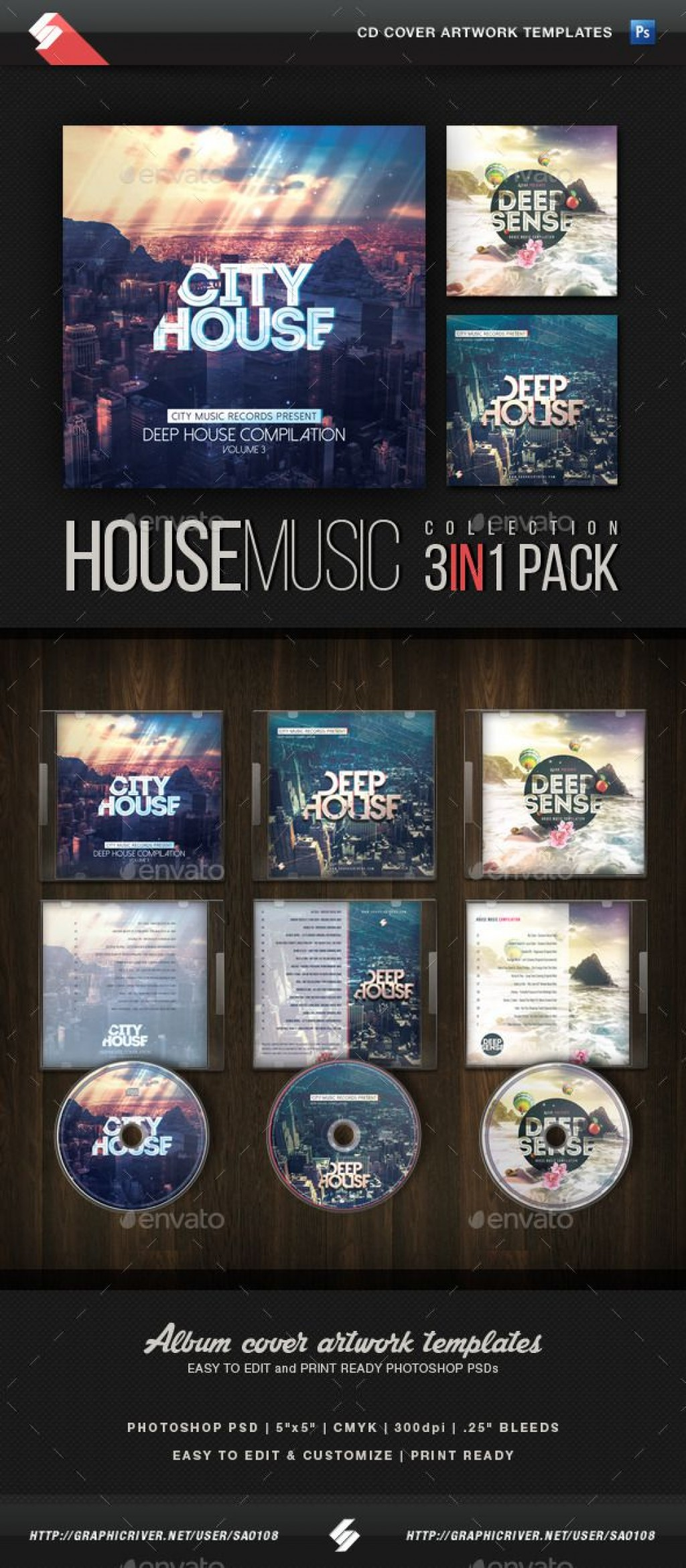 016 Fascinating Cd Cover Template Psd Inspiration  Sleeve Case Free Download LayoutLarge