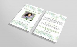016 Incredible Funeral Invitation Template Free Inspiration  Printable Service Word