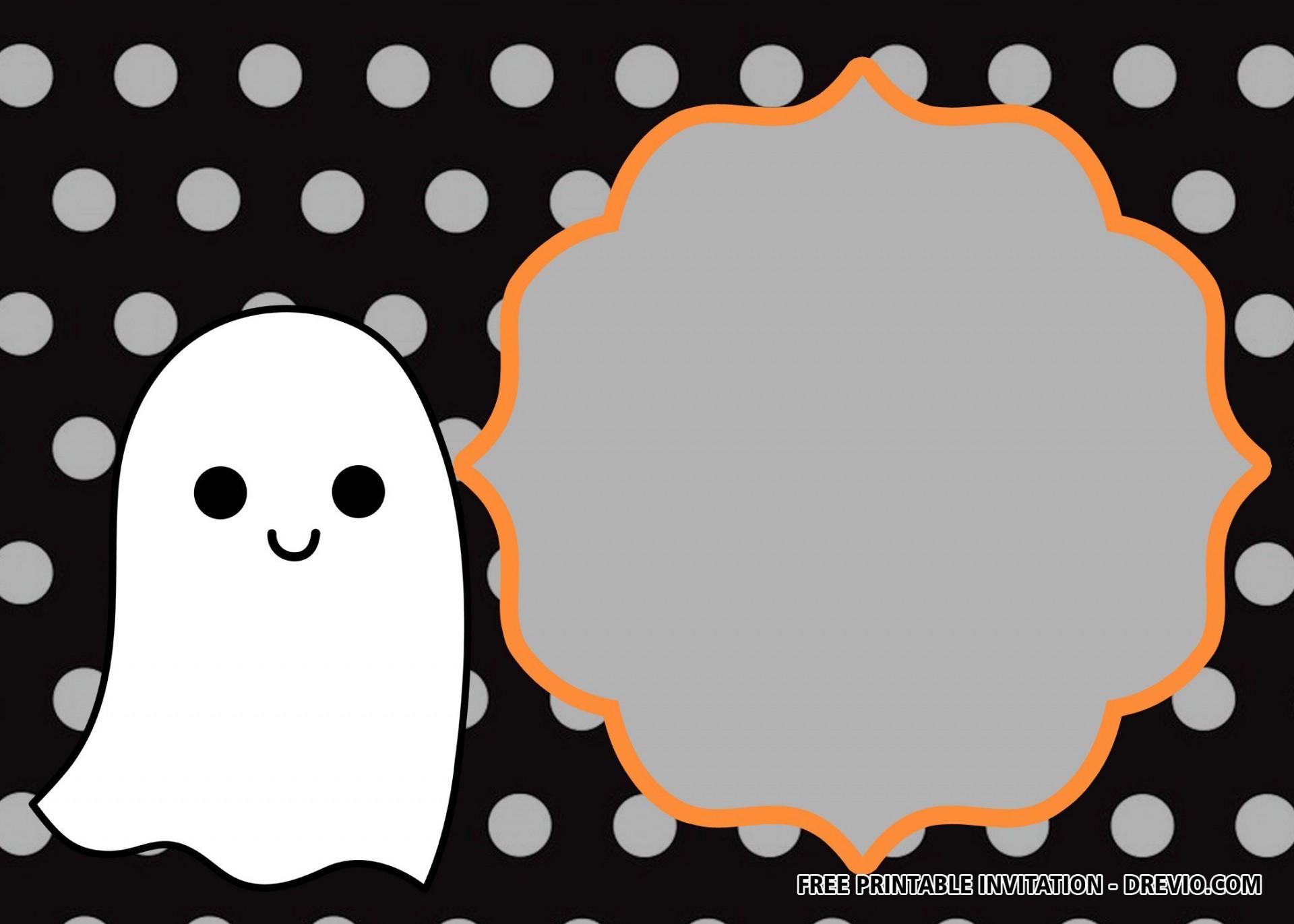 016 Simple Free Halloween Invitation Template Design  Templates Microsoft Word Wedding Printable Party1920