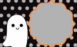 016 Simple Free Halloween Invitation Template Design  Templates Microsoft Word Wedding Printable Party