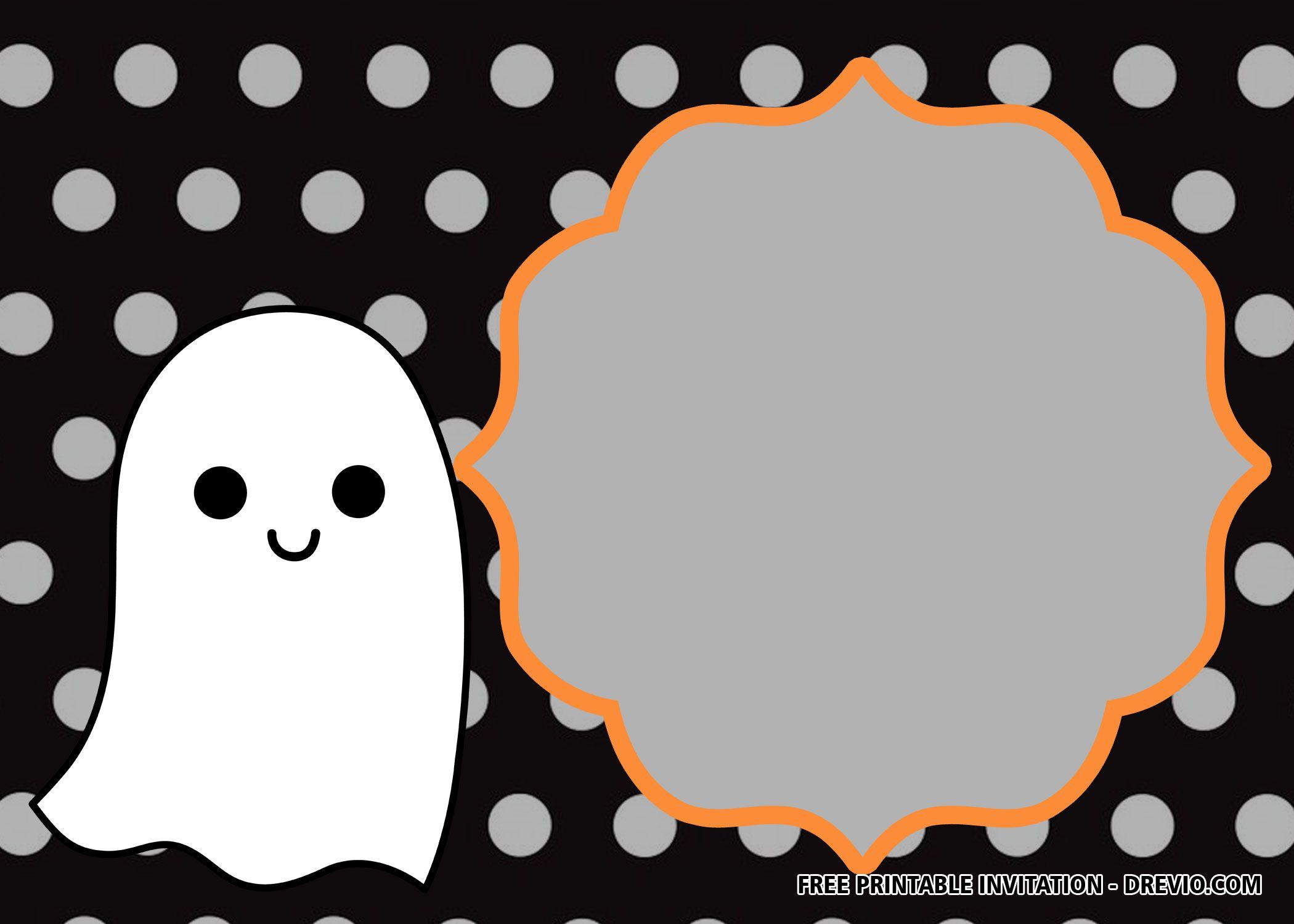 016 Simple Free Halloween Invitation Template Design  Templates Microsoft Word Wedding Printable PartyFull