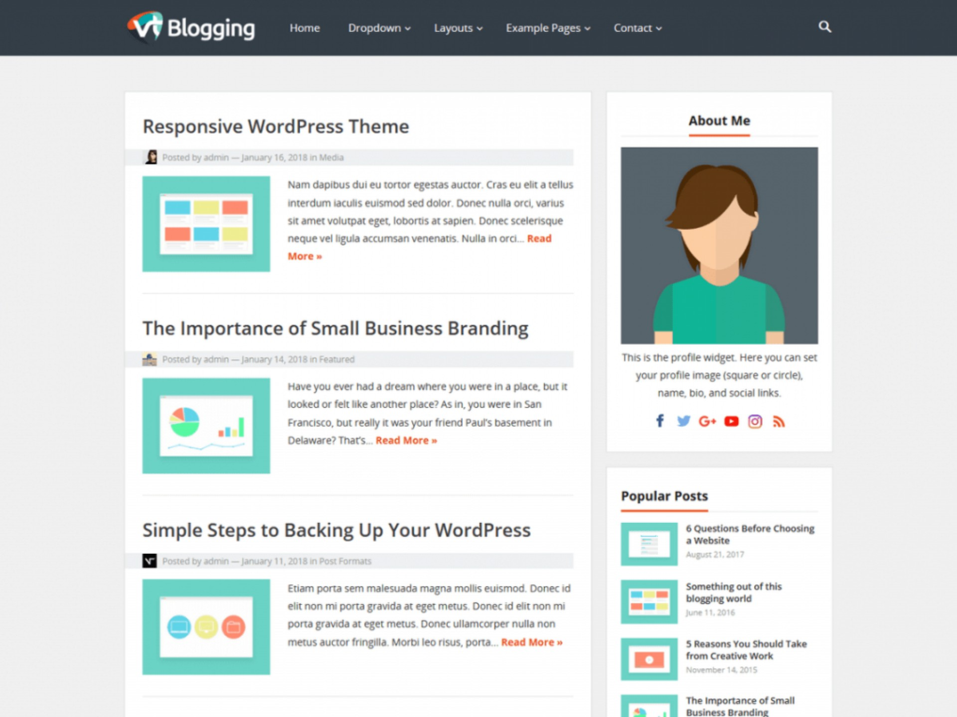 Amazing Free Wordpres Blogger Template  Templates Best Theme For Blog 2018 2019 Download1920