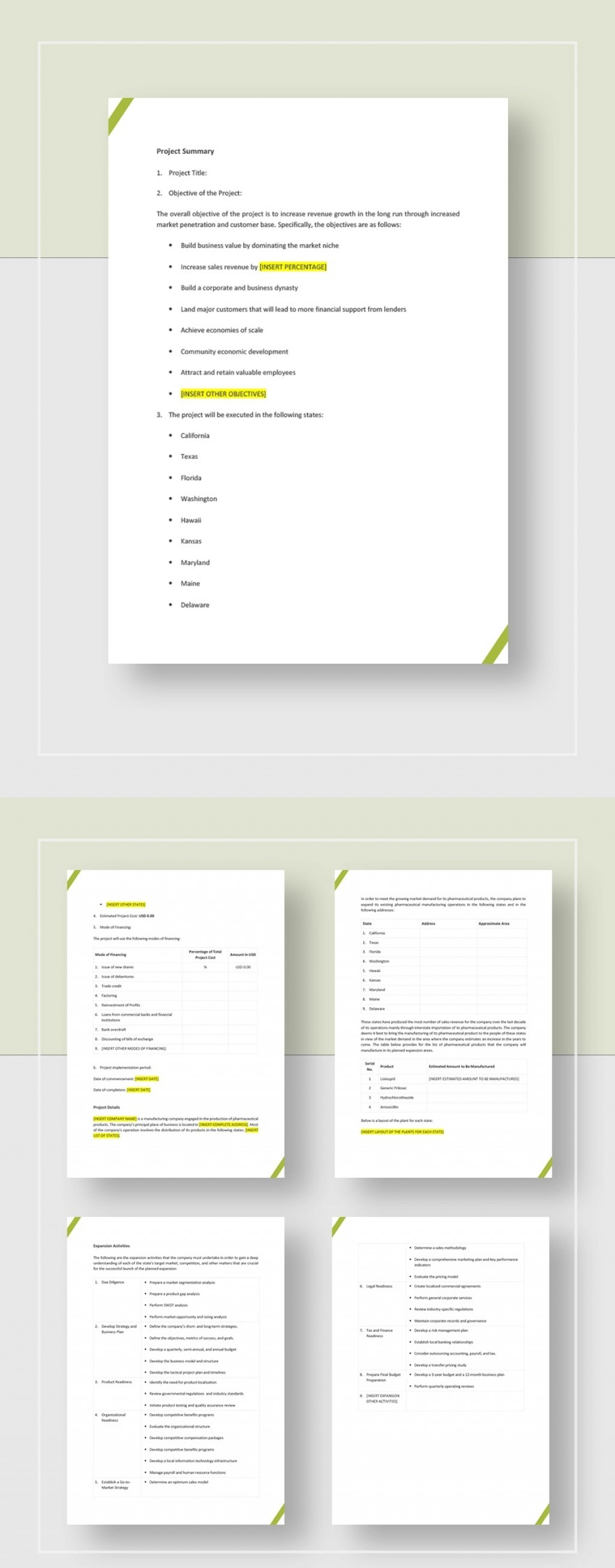 Development Project Proposal Template Jpg  Web Design & Powerpoint SampleLarge
