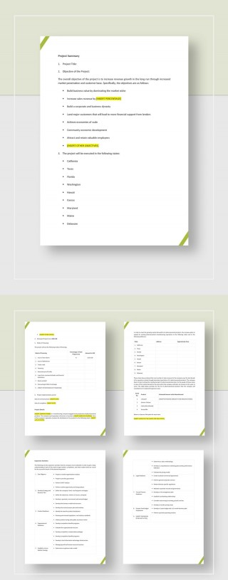 Development Project Proposal Template Jpg  Web Design & Powerpoint Sample320