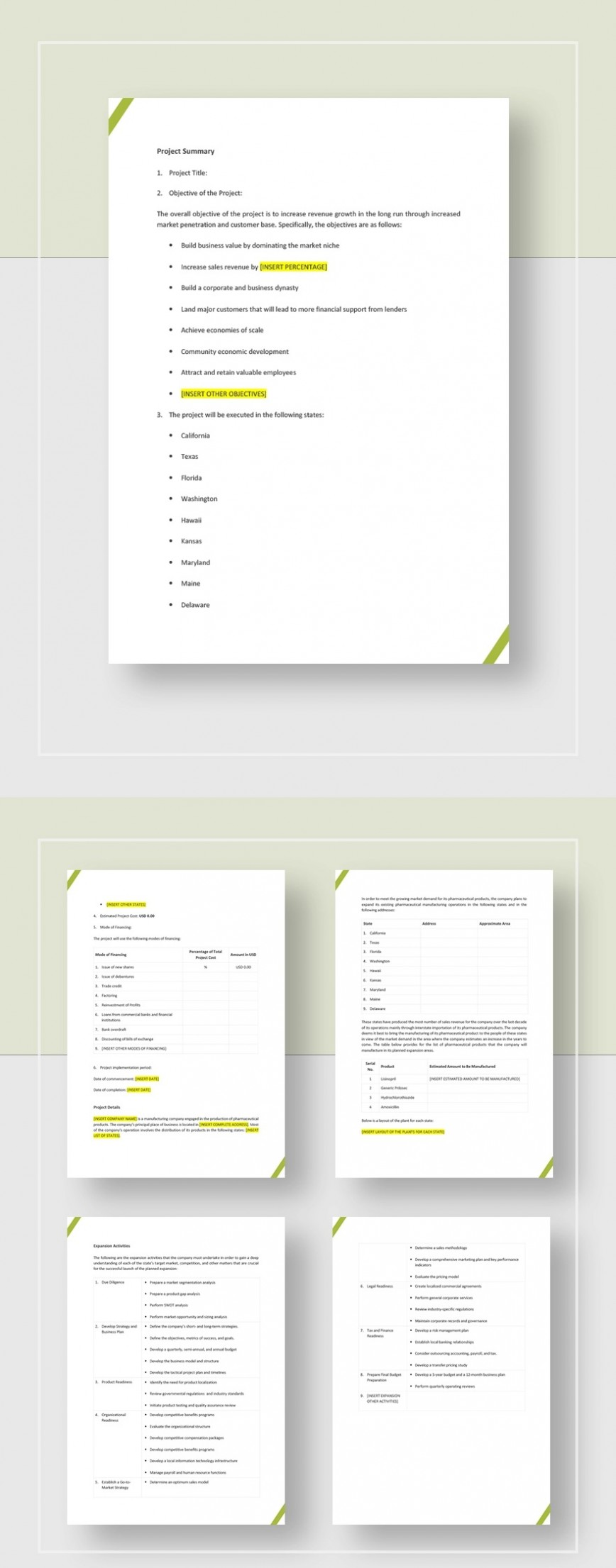 Development Project Proposal Template Jpg  Web Design & Powerpoint Sample868