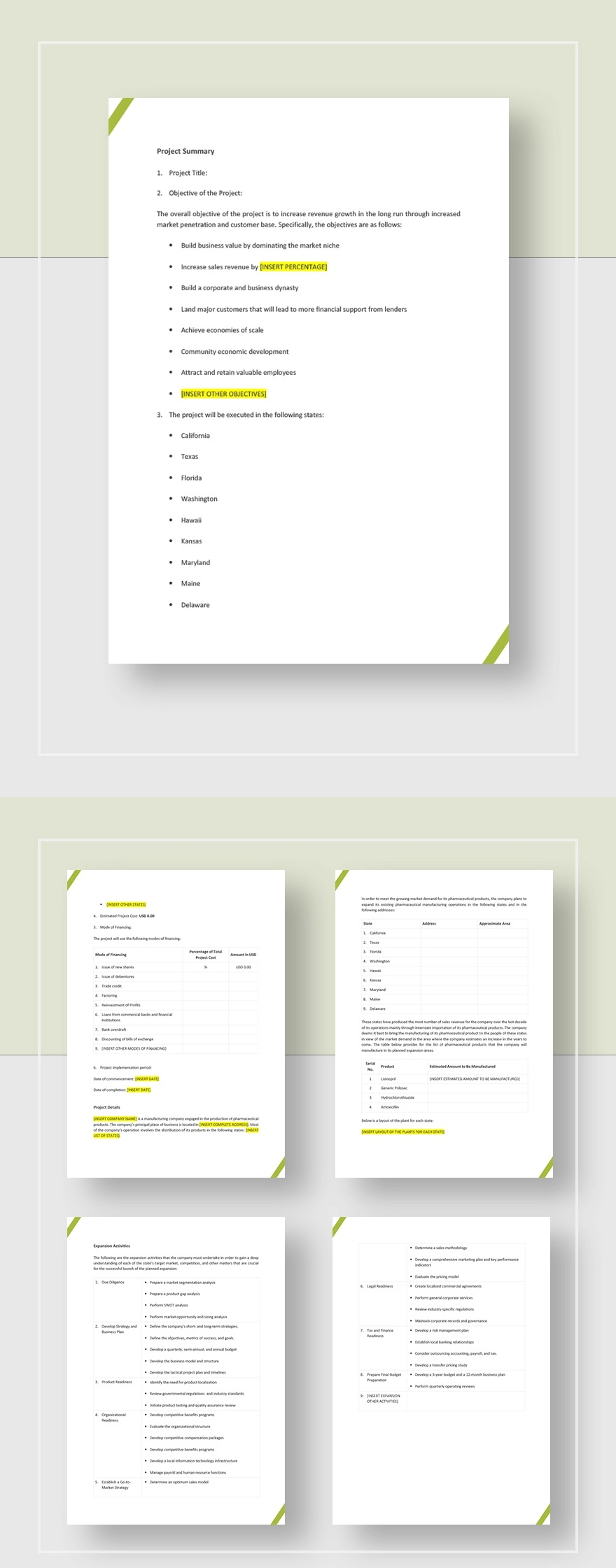 Development Project Proposal Template Jpg  Web Design & Powerpoint Sample