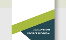 Development Project Proposal Template  Sample Pdf Outline Web Example
