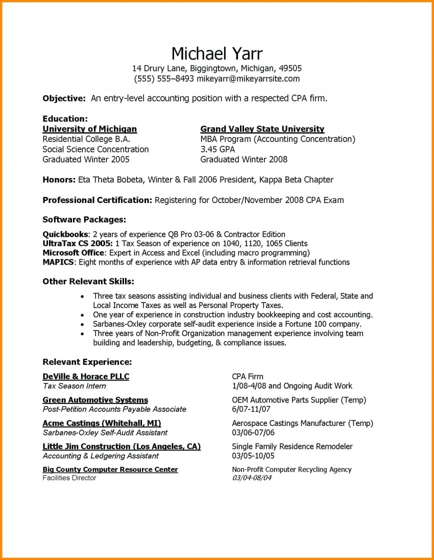 Entry Level Resume Template Addictionary