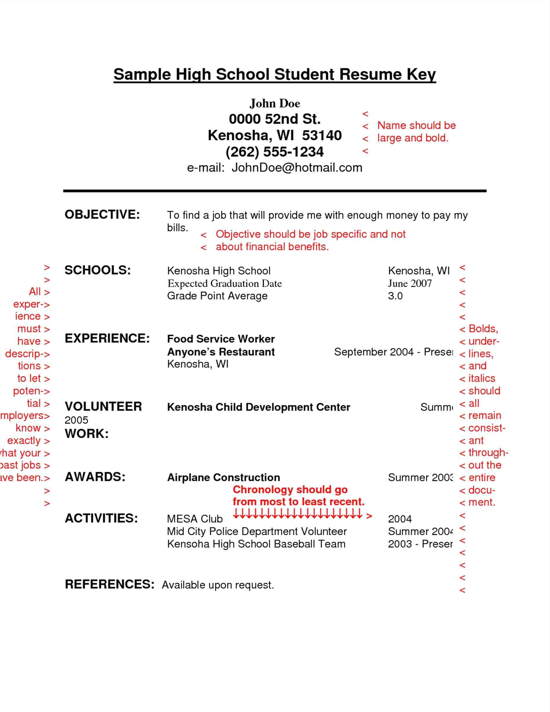 Entry Level Resume Template Addictionary