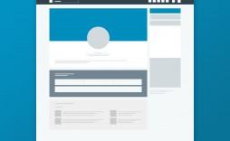 Facebook Post Template Psd Simple Idea  Free Download Design