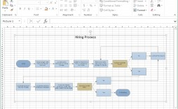 Flow Chart Template Excel In  Download Microsoft