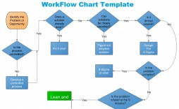 Flow Chart Template Excel Work  Download Microsoft