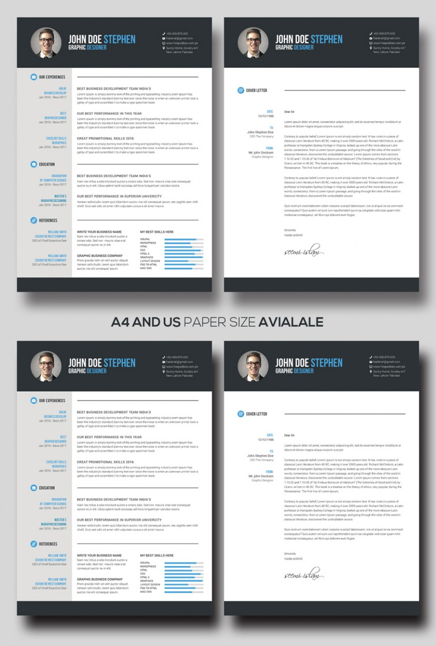 Free M Word Resume And Cv Template Idea  Ms 2018 Creative Download 2020