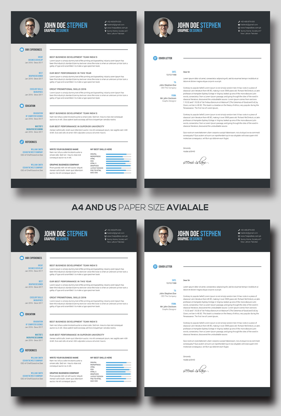 Free M Word Resume And Cv Template Idea  Ms Design Creative Download 2020Full