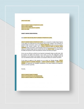 Graphic Design Proposal Template Sample Idea Jpg  Free Freelance360
