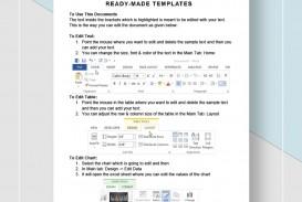 Graphic Design Proposal Template Instruction  Pdf Sample
