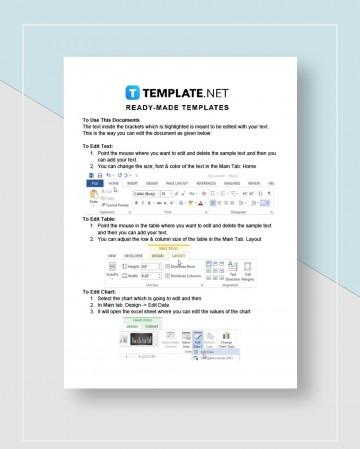 Graphic Design Proposal Template Instruction  Pdf Sample360
