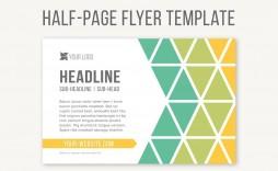 Half Sheet Flyer Template Brochure Idea  Free Word Google Doc
