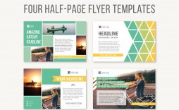 Half Sheet Flyer Template Four Page  Free Word Google Doc