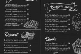 Menu Template Free Download Restaurant  Psd Word Html
