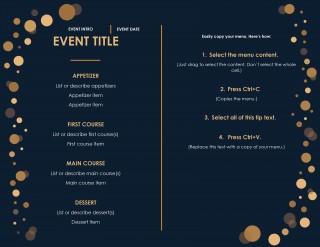 Menu Template Free Download Restaurant  Psd Word Html320