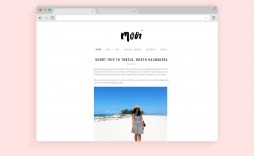 Minimalist Free Wordpres Blogger Template Idea  Templates Best Theme For Blog 2018 2019 Download