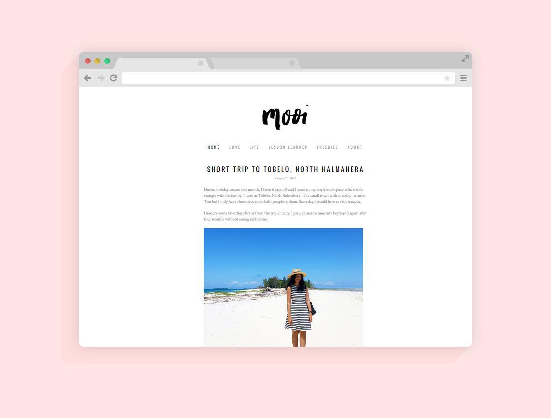 Minimalist Free Wordpres Blogger Template Idea  Templates Best Theme For Blog 2018 2019 DownloadFull