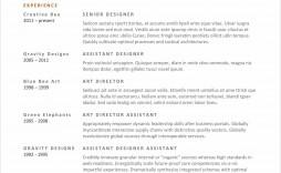 M Word Template Resume Idea  Ms Design Creative Free Download 2020