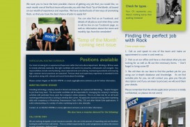 Newsletter Template Microsoft Word Recruitment Idea  Example 2007